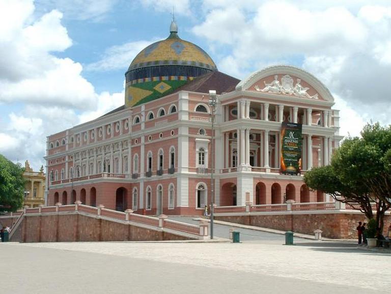 Teatro Amazonas, Manaus, Brazil ©Pontanegra