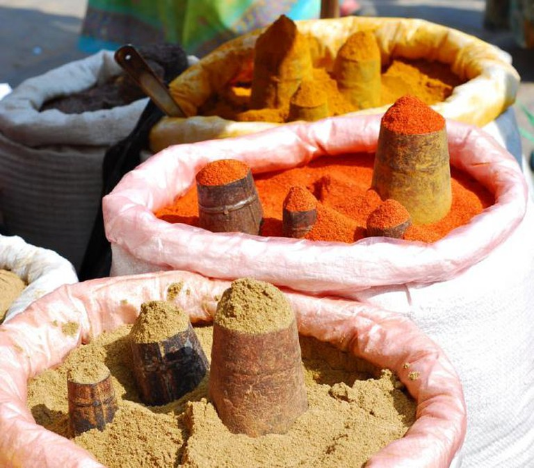 Spice market, Nepal | © Vera & Jean-Christophe/Flickr