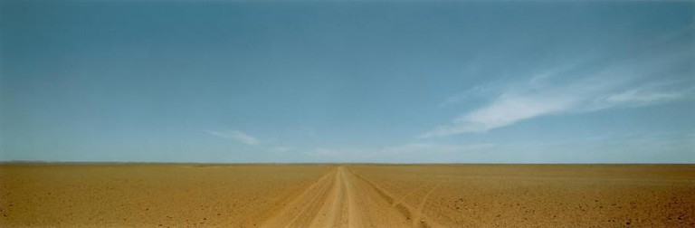 Dust Road in West Australia, 1988 178 x 447 cm