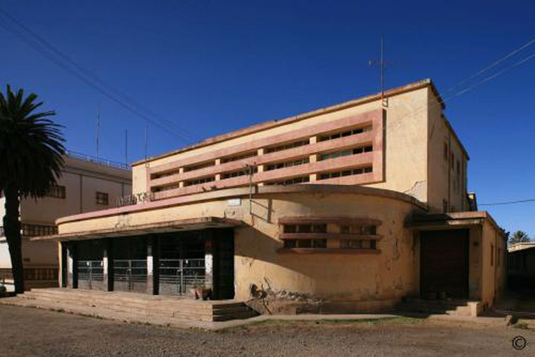 Cinema Capitol Asmara © Edward Denison