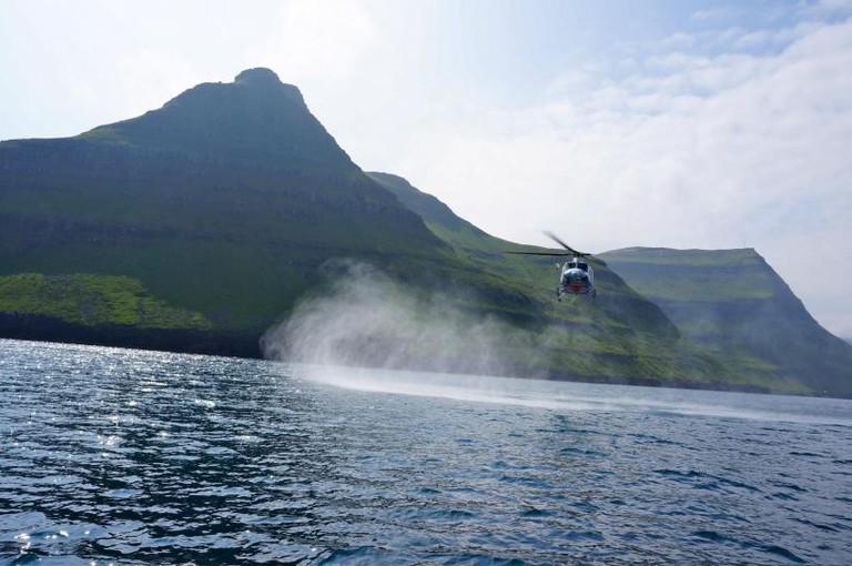Andrew Kingsford-Smith, Atlantic Airways Helicopter, Gjov, 2013
