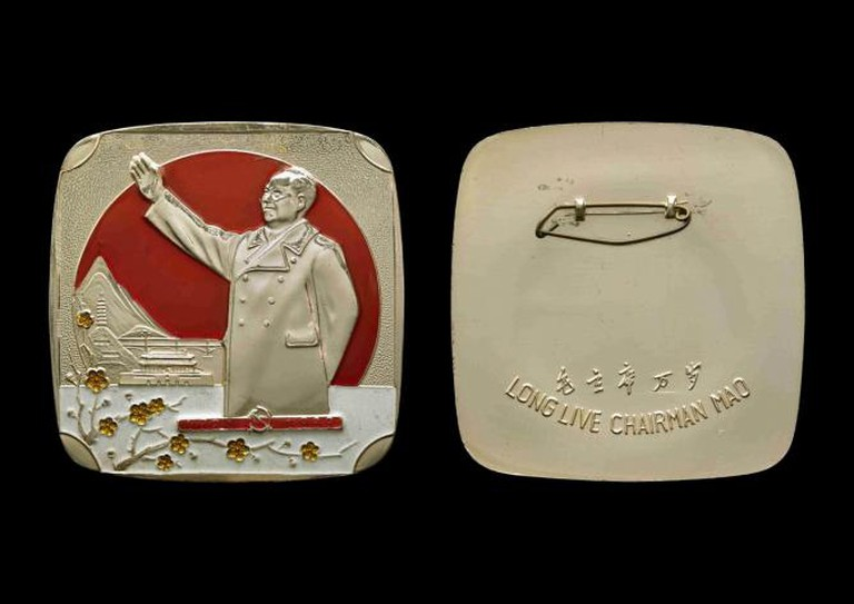 Chinese Chairman Mao badges