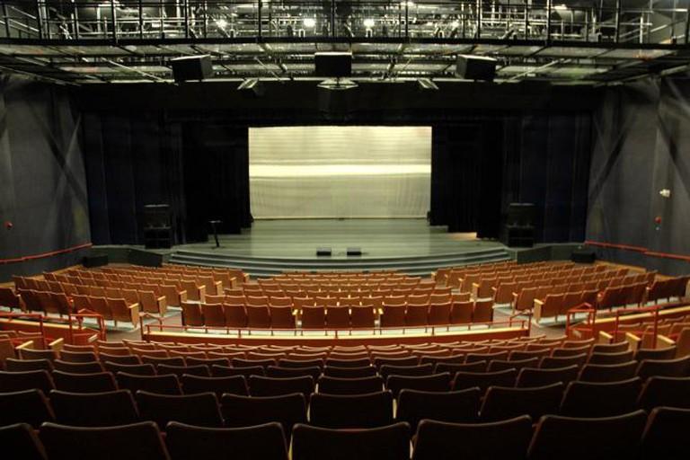 Gem Theater stage