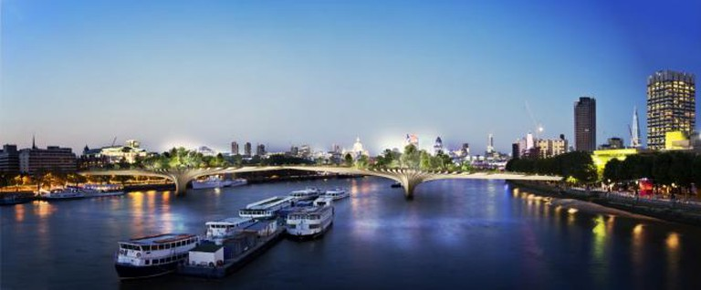 Garden Bridge impression