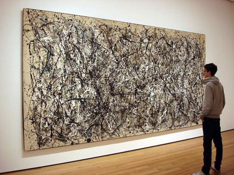 Recording The Unconscious In Jackson Pollock S Work