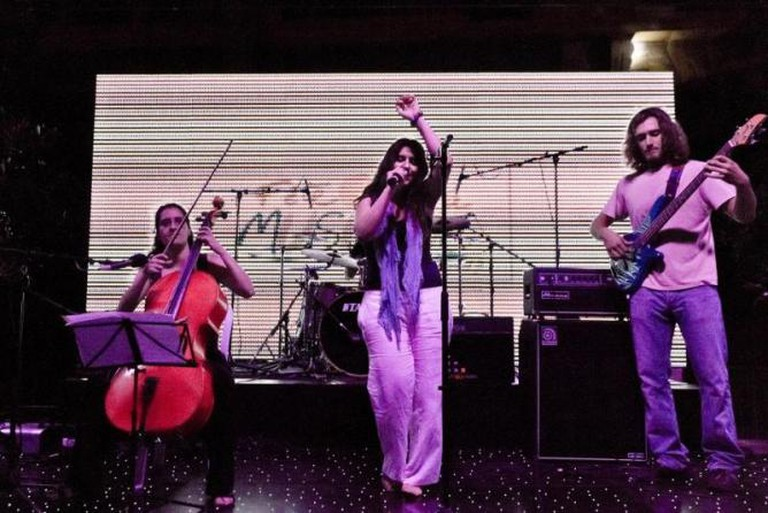 Sandmoon at the Fete de la Musique, Beirut, 2013 | Courtesy of Karim Sakr