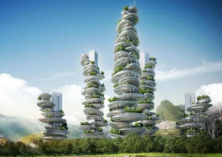 Asian Cairns, Vincent Callebaut Architects