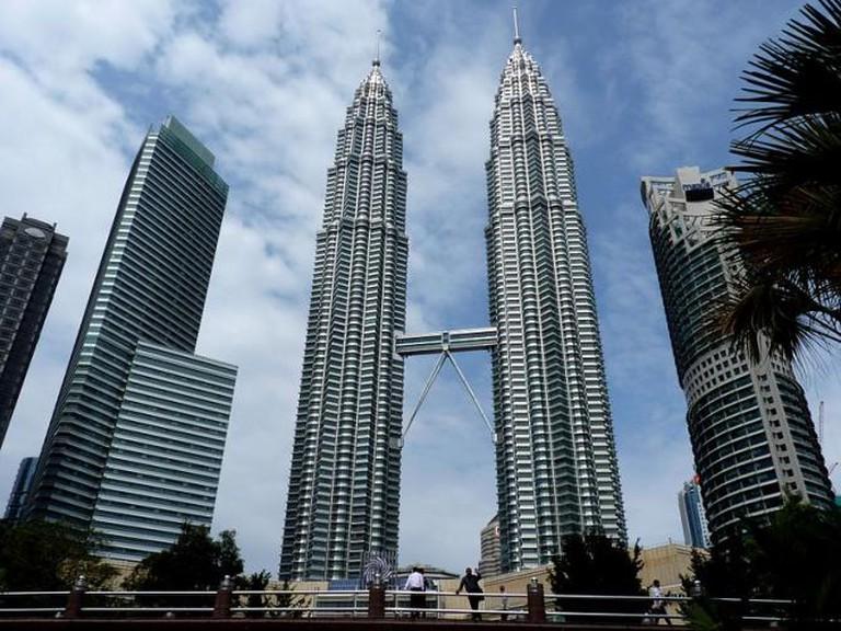 The Petronas Twin Towers in Kuala Lumpur © Dudva/WikiCommons
