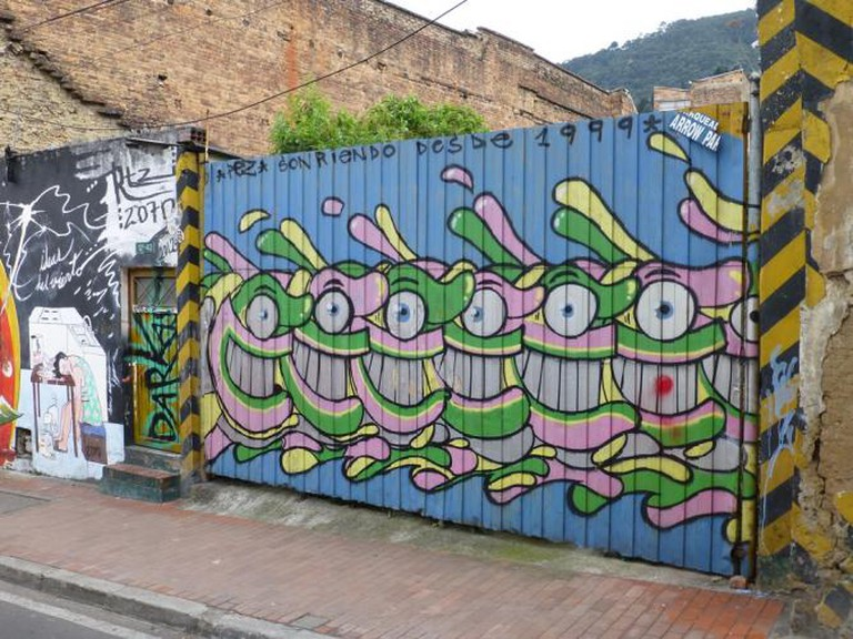 Pez Colombia Street Art
