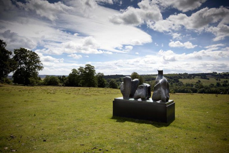 Henry Moore, Three Piece Reclining Figure No 1, 1961-2. Reproduced by Permission of The Henry Moore Foundation