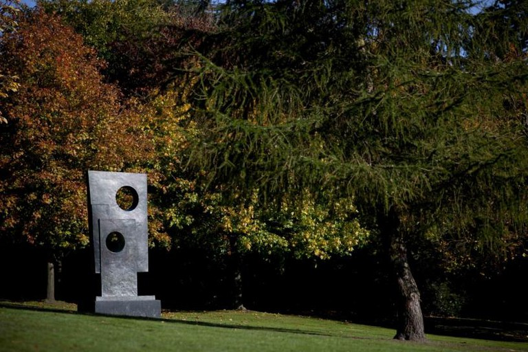 Barbara Hepworth, Square with Two Circles, 1963