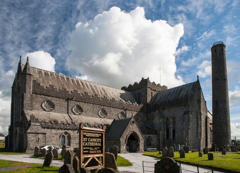 St. Canice's Cathedral.
