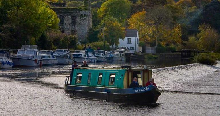 Canal at Graiguenamanagh.