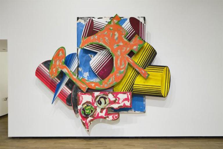 Frank Stella, La Penna Di Hu, 1984. Mixed Media on Canvas. Galerie Enrico Navarra, Paris.