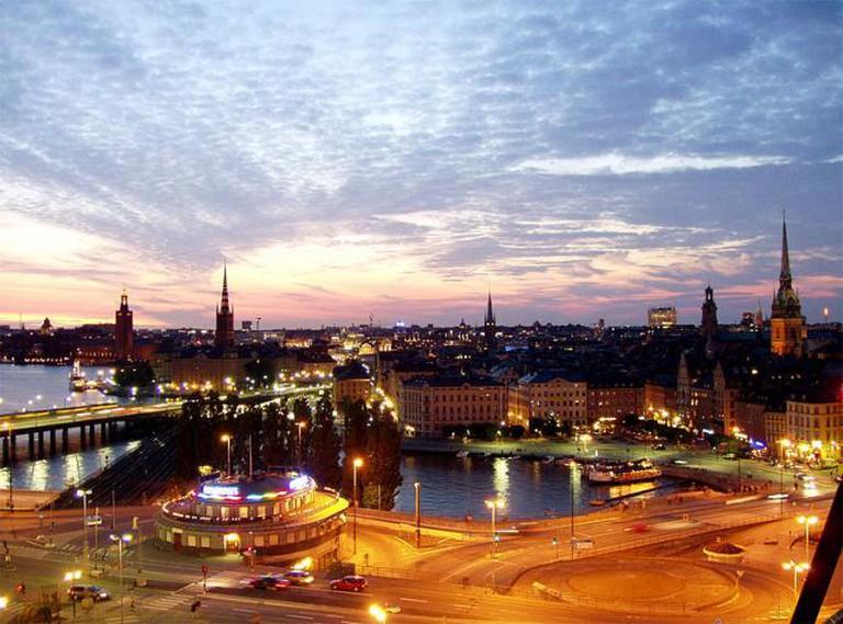 Stockholm - Gamla Stan from Katarinahissen