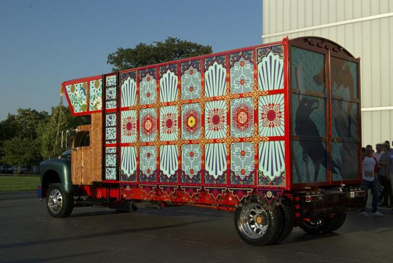Asheer Akram Pakistani Cargo Truck Initiative