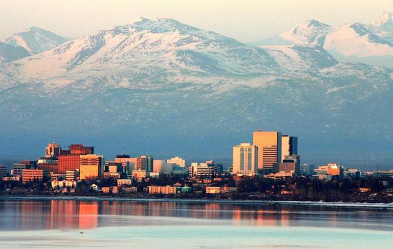 Anchorage in April