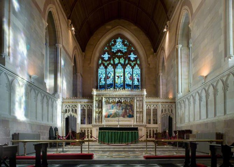 Interior of St. Patrick's Church of Ireland cathedral in Armagh