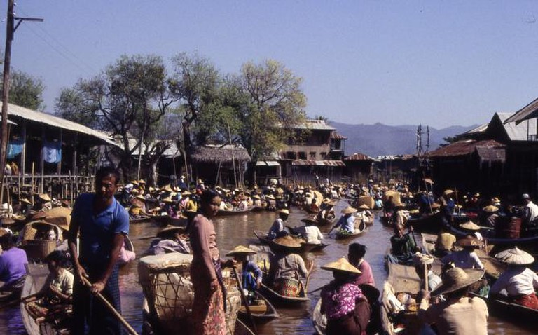 Burma Floating Market