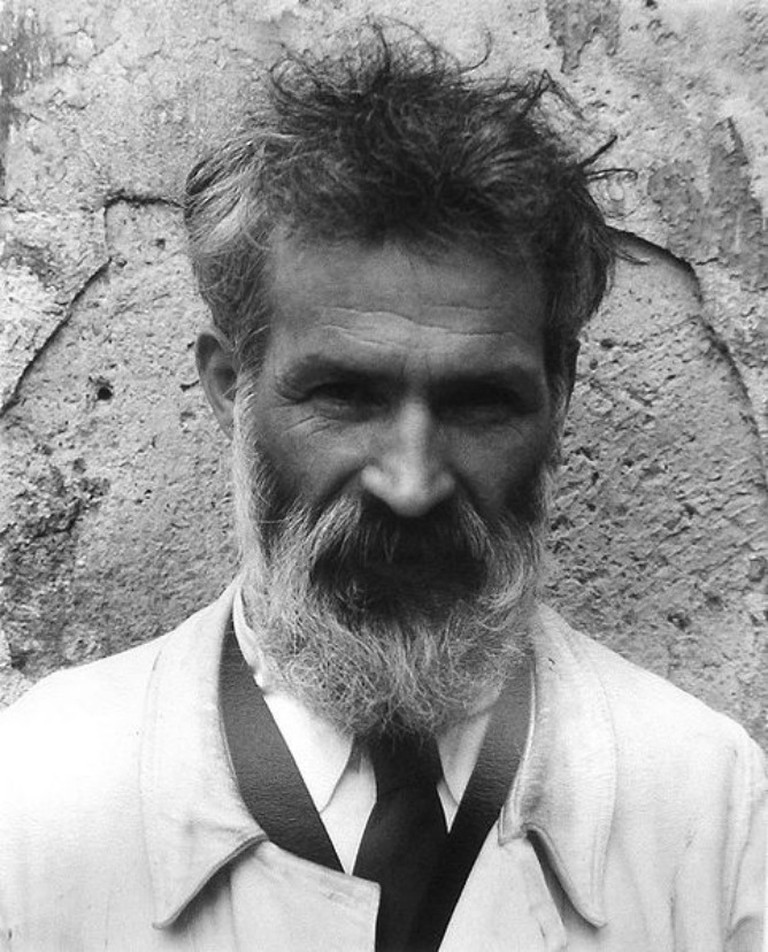 Constantin Brâncuși, photography by Edward Steichen