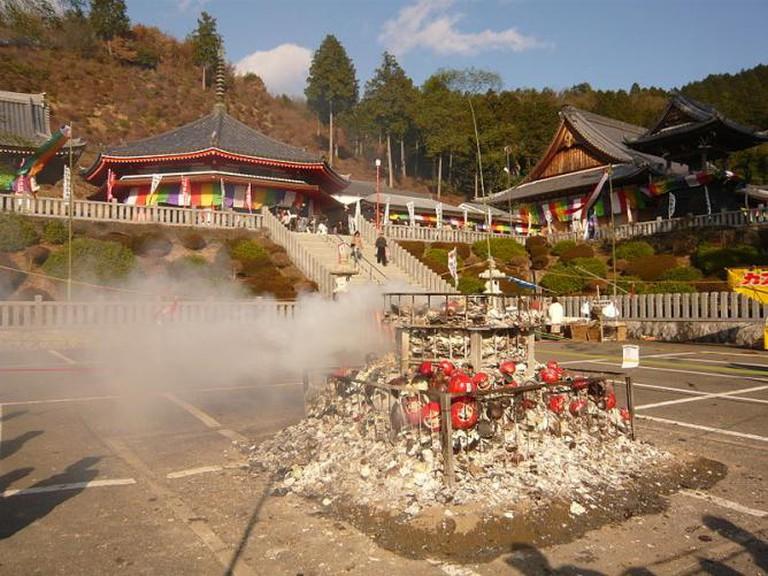 Daruma burning