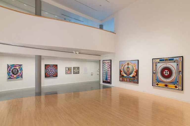 Paul Laffoley, exhibition view | Courtesy of Henry Art Gallery