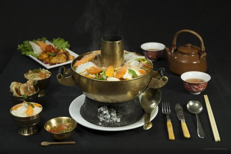 Utse Restaurant's Signature 'Gacok' Hot Pot | © Utse