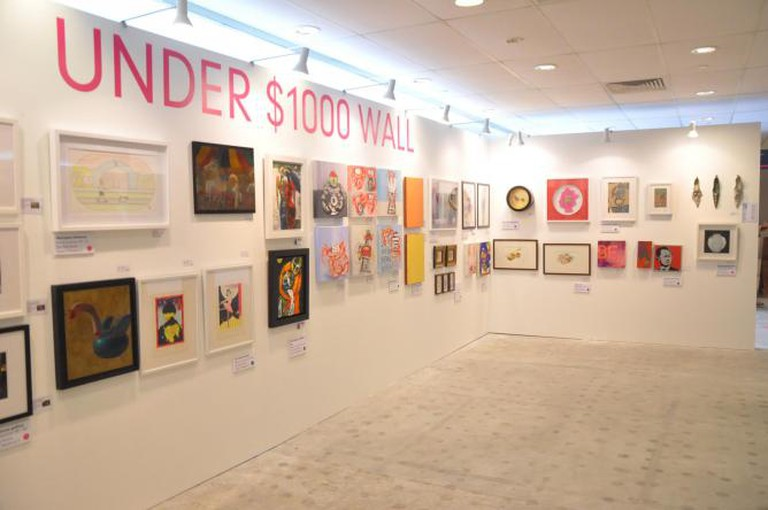 Under $1000 Wall | Courtesy of Affordable Art Fair Singapore
