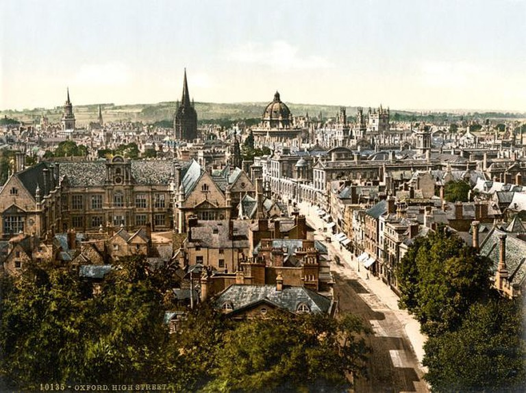 High Street, Oxford, England 1890-1900