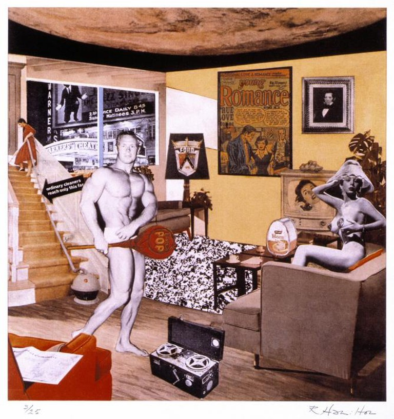 Richard Hamilton, Just what was it that made yesterday's homes so different, so appealing?