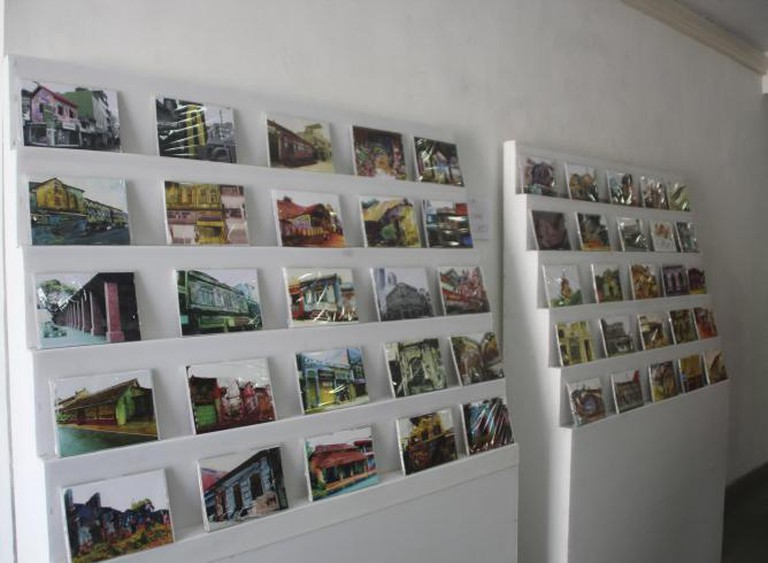 Lakisha Fernando, Memorizing History, Public participatory artwork with postcard booth, Variable dimensions