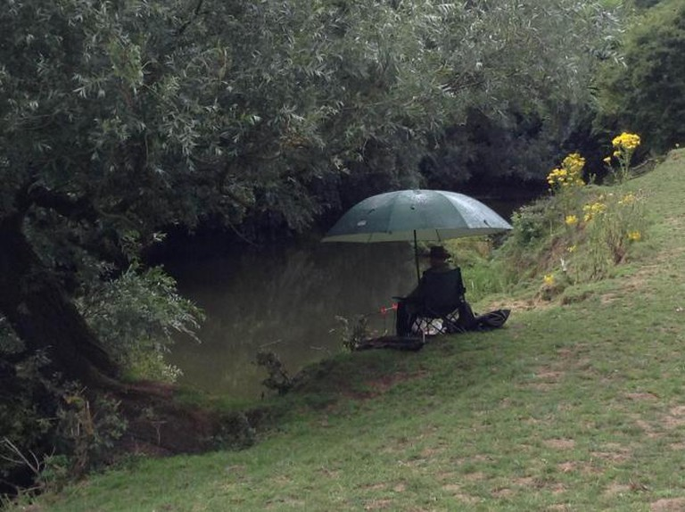 Fisherman, River Mole