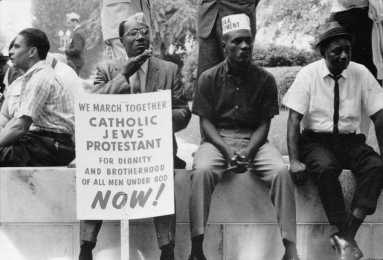 Selma to Montgomery Marches protesters