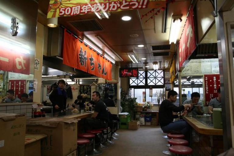 Okonomi-mura okonmiyaki restaurant