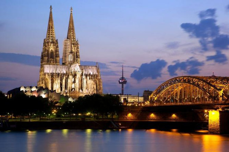 Cologne Cathedral and the Hohenzollern Bridge