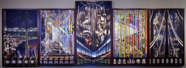 Voice of the City of New York Interpreted by Joseph Stella