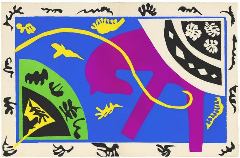Henri Matisse, The Horse, the Rider, and the Clown 1943-4