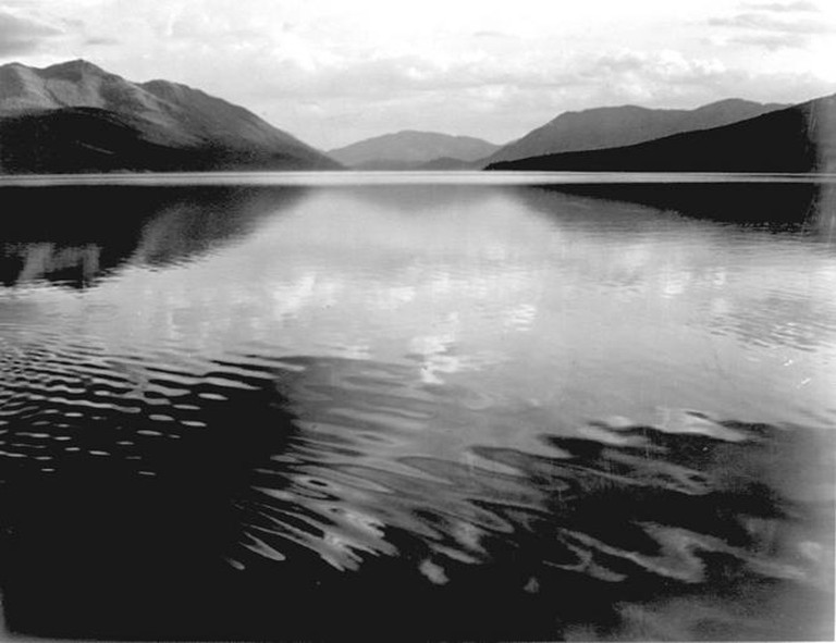 Ansel Adams, McDonald Lake, Glacier National Park