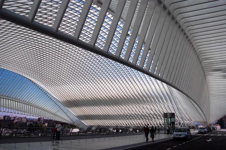 Canopy, gare Liège-Guillemins