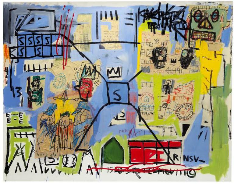 Jean Michel Basquiat - Unititled (1981)