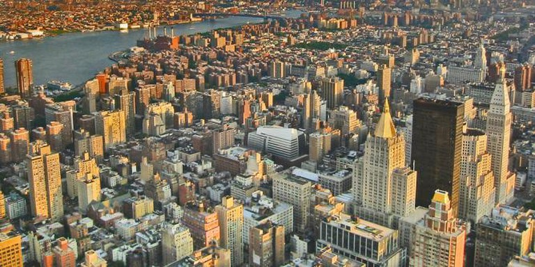 A view from the Empire State: New York City, Manhattan