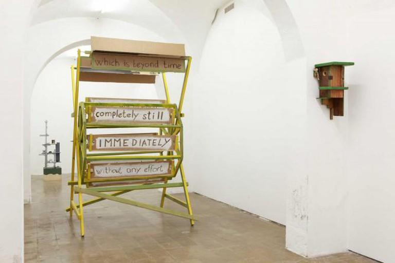 Tamás Kaszás, Antropológiai leletek a népi konstruktivizmusról, February-April 2014 | Courtesy of Galleria Collicaligreggi
