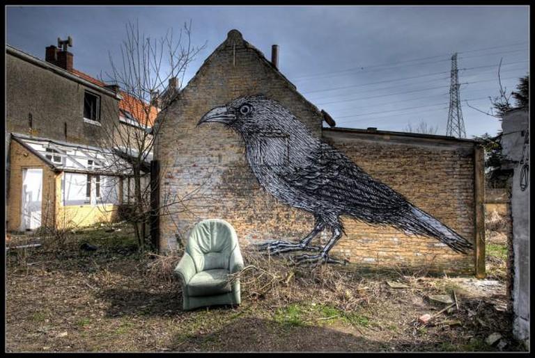 Armchair graffiti © Romany WG
