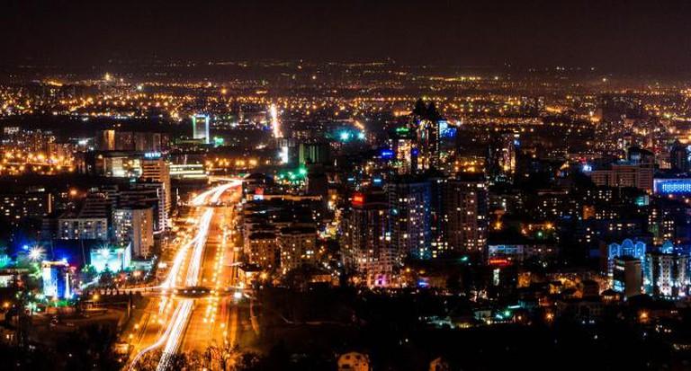 Almaty at nigh