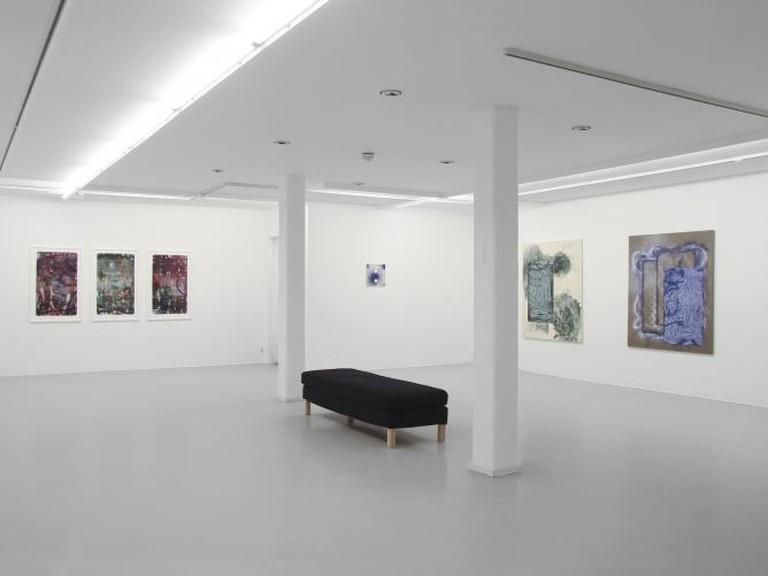 1. Martin Formgren, Antidotes, installation view. Photo by Guido Pierri. Image courtesy of Galleri Thomassen 2. Roger Metto, 3 cabin | Courtesy of Galleri Thomassen