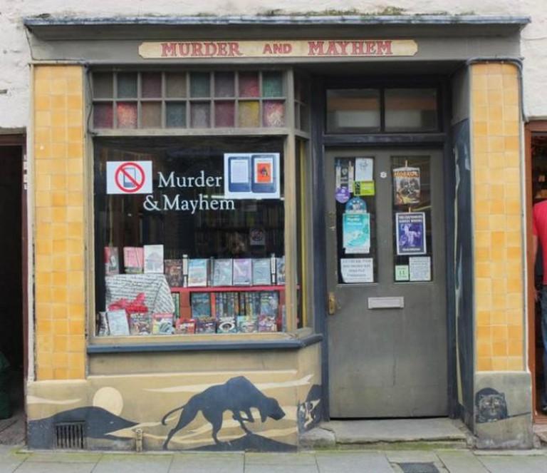 Murder & Mayhem Bookshop