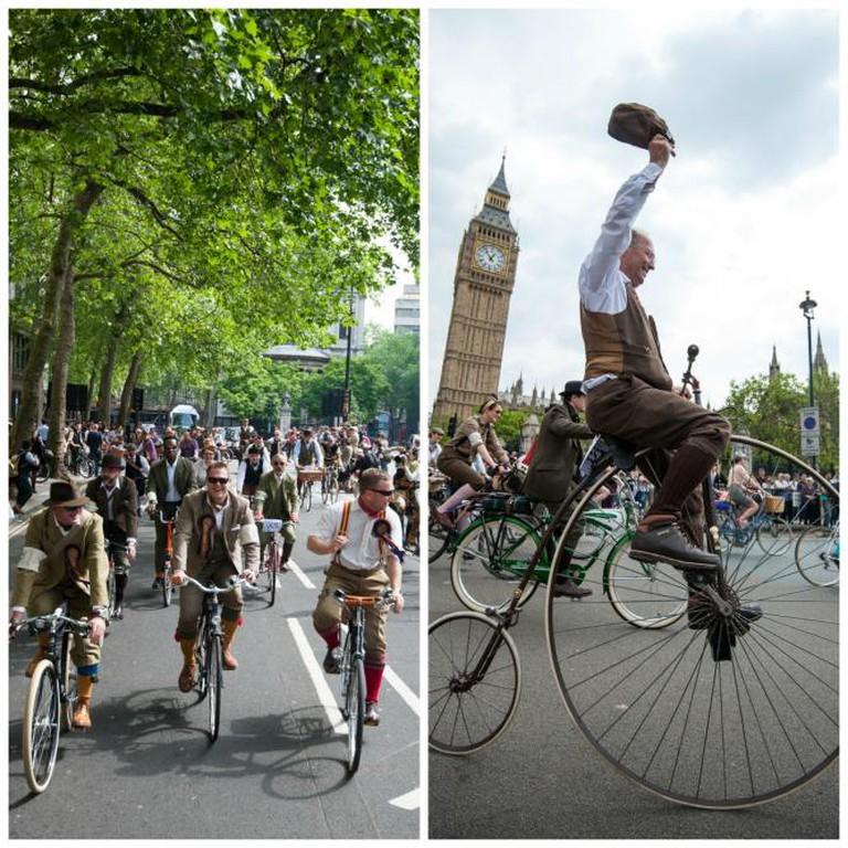 The Tweed Run London