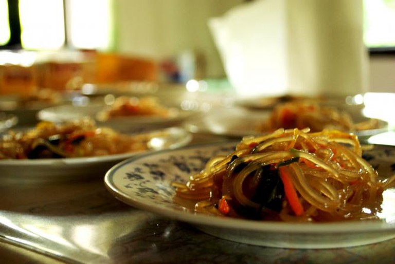 Burmese Bean Noodles
