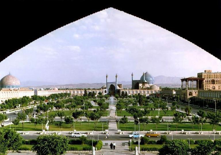 Naqsh-e Jahan Square, Esfahan, Iran   © Arad Mojtahedi/ WikiCommons