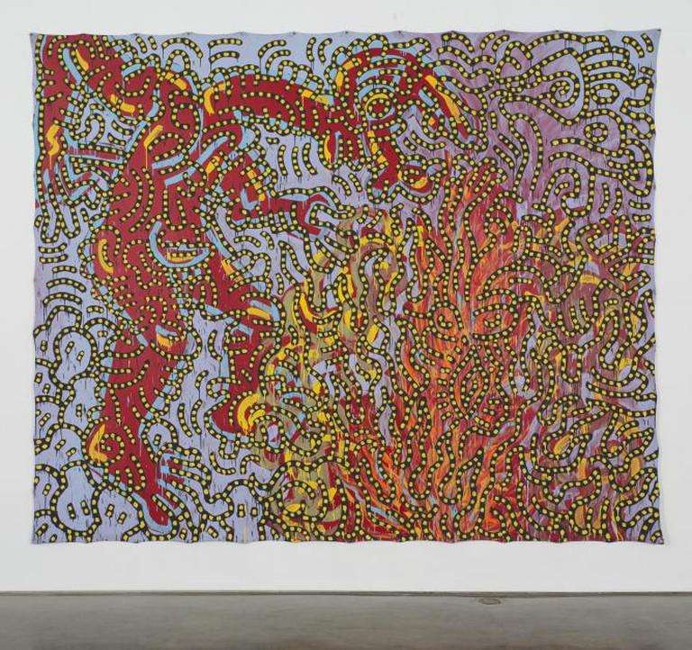 Keith Haring Moses and the Burning Bush